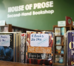 WORM YOUR WAY INTO BOOKS AT HOUSE OF PROSE, SHEIKH ZAYED ROAD