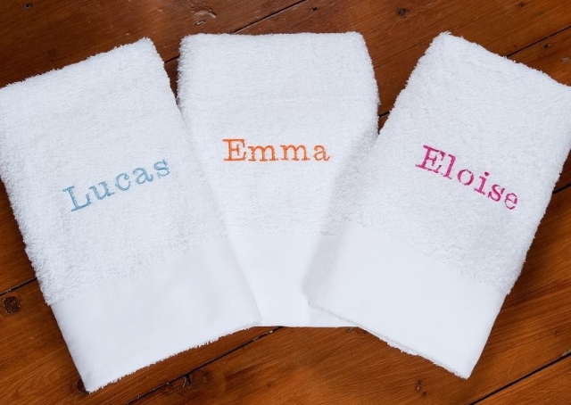 bespoke towels for kids