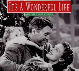 A FESTIVE-THEMED DINNER FOLLOWED BY THE SCREENING OF 'IT'S A WONDERFUL LIFE'