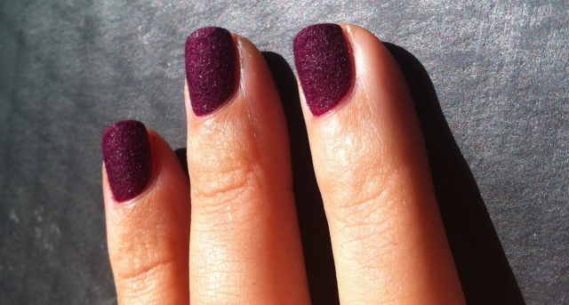 VELVET EFFECT MANICURES AND PEDICURES