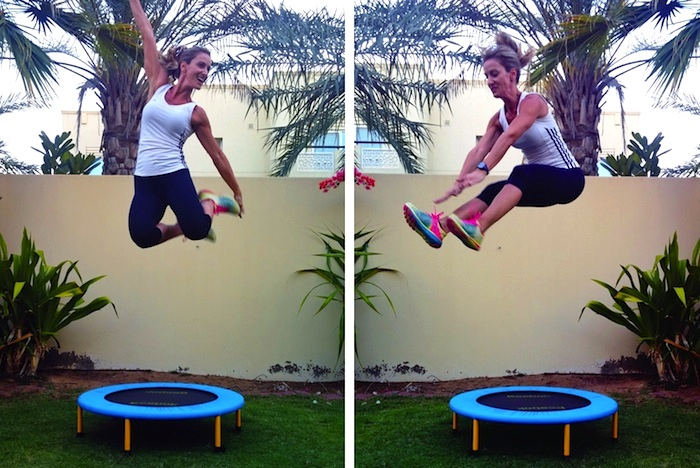 trampoline workout dubai