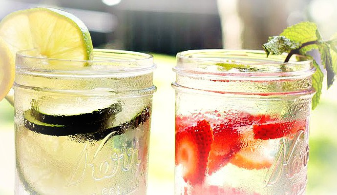Our favorite homemade fruity infused water recipes
