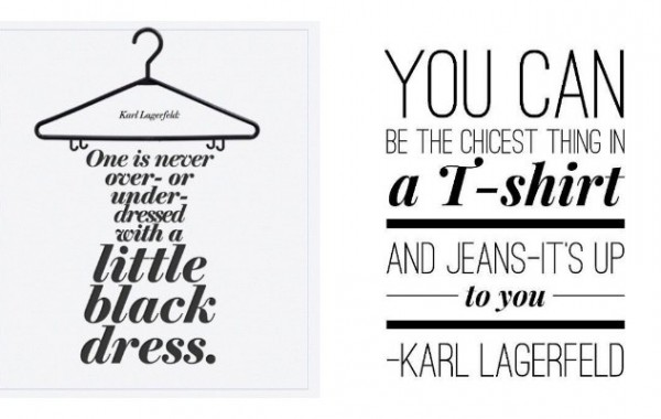 Famous quotes by Karl Lagerfeld