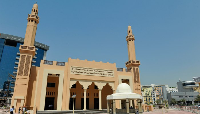 First green mosque in Dubai Deira