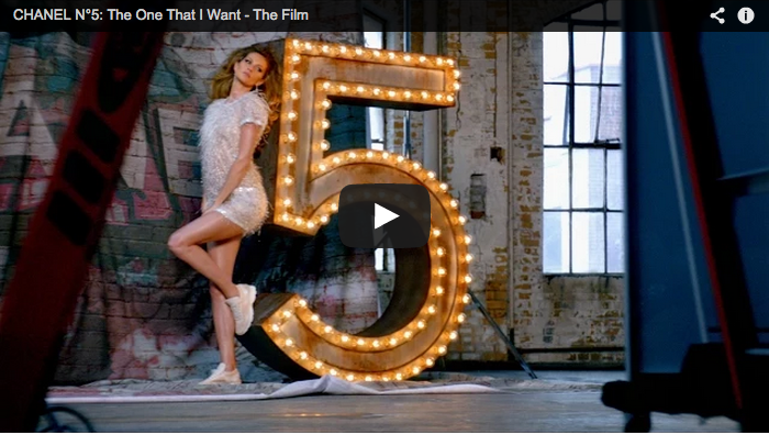 The new Chanel n°5 video