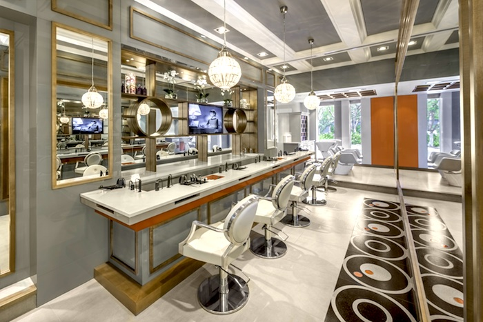 The Blow Dry Bar Interior Side