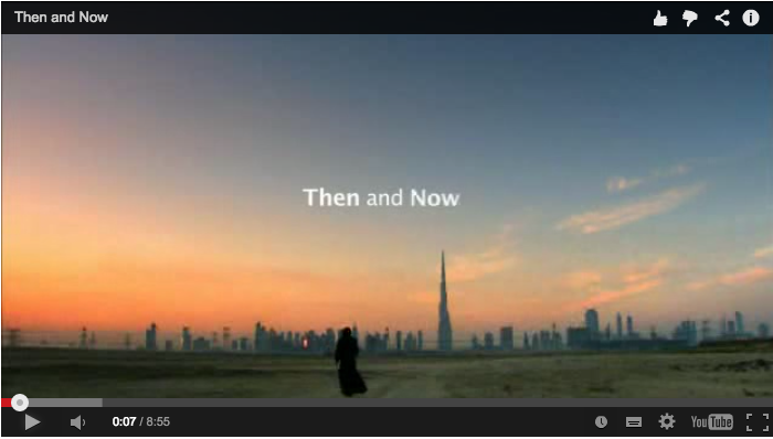 Then and Now Video about the UAE