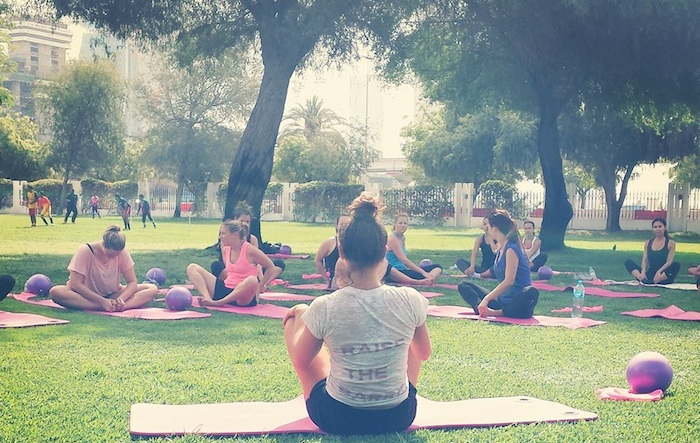nyla method free classes outdoor dubai