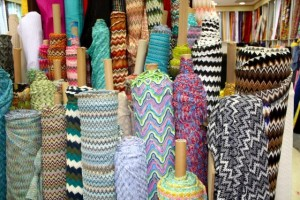 The fabric shop in Dubai