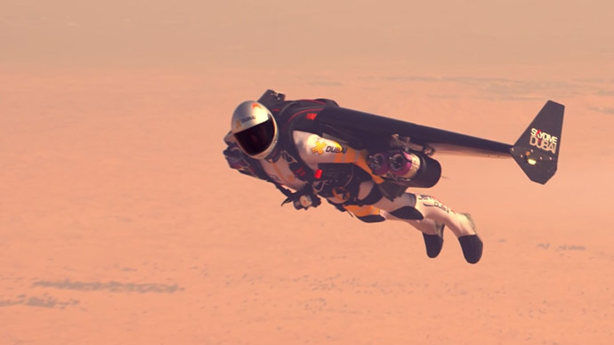 JETMAN ABOVE DUBAI