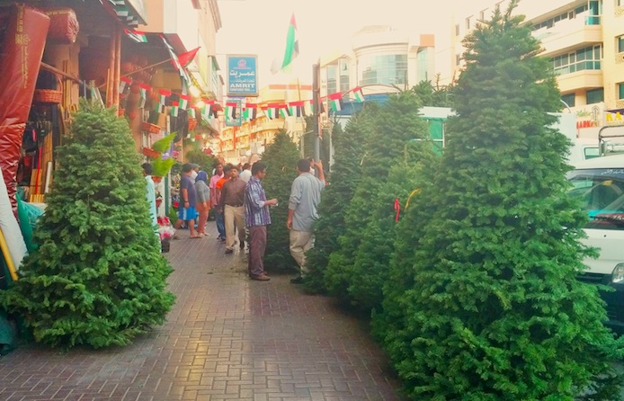where to get an affordable christmas tree in dubai