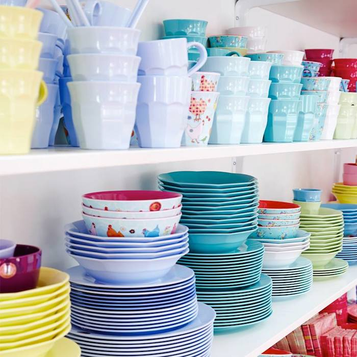 The RICE Melamine collection available in Dubai