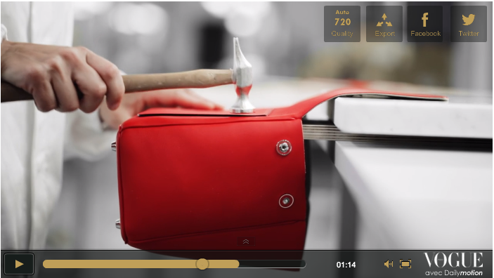 Dior Le be Bag Making of