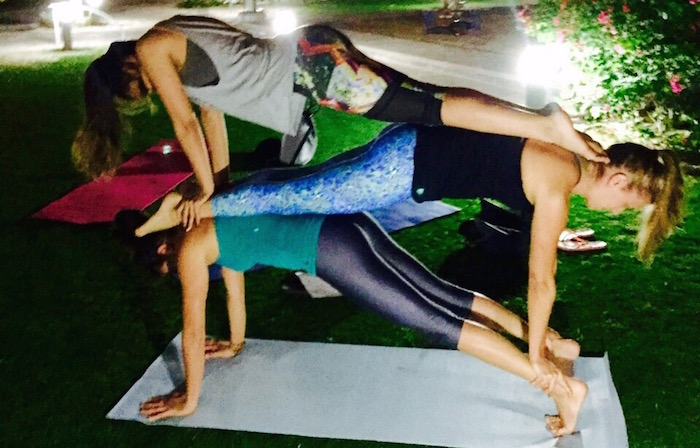 Acro yoga in Dubai