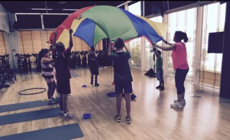 Fitness class for kids Dubai