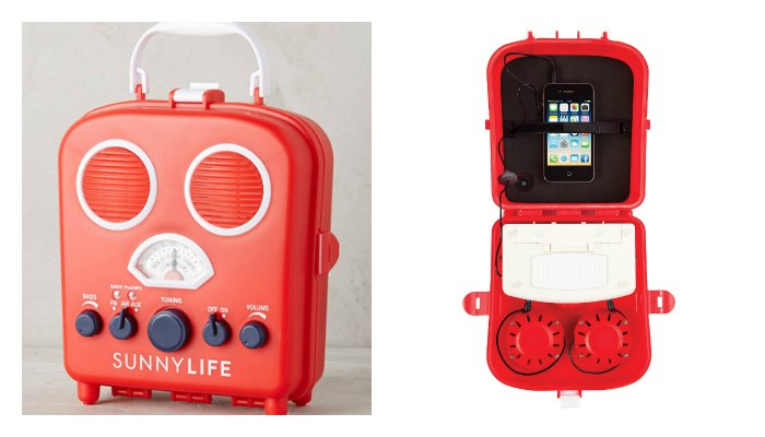 Sunnylife Radio and Portable Speaker