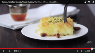 kunafa video recipe