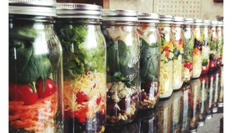 Salads in a jar 2