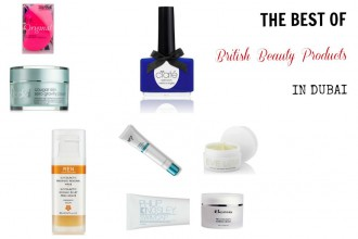The Best of British Beauty Products in Dubai