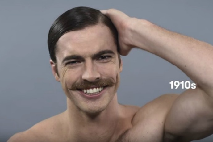 100 Years Of Beauty Celebrating Men S Hairstyles