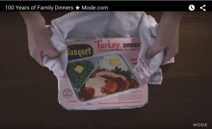 100 years of family dinners