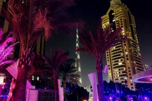 AN OUTDOOR LADIES NIGHT WITH AMAZING VIEWS OVER BURJ KHALIFA