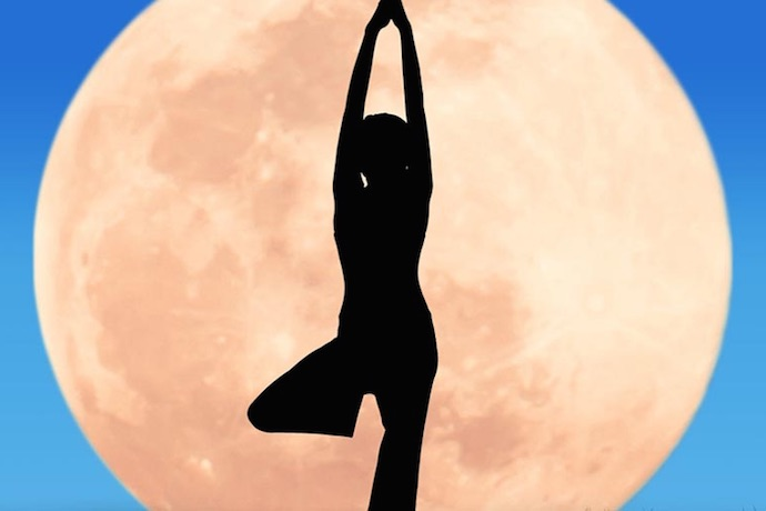 Full Moon Yoga at Al Barari