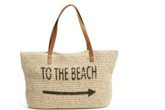 9 stylish beach bags