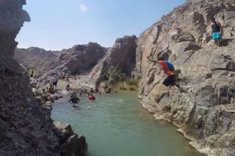 Canyoning in Dubai