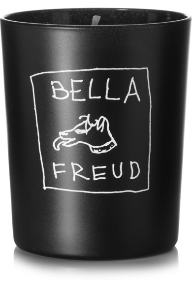 Wood and and oud scented candle by Bella Freud