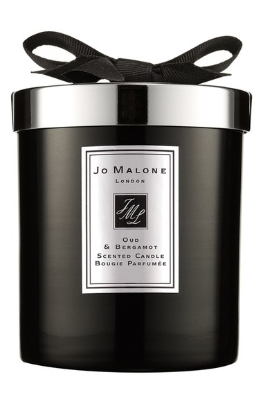 Oud and Bergamot candle by Jo Malone