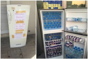 Sharing the fridge in the UAE