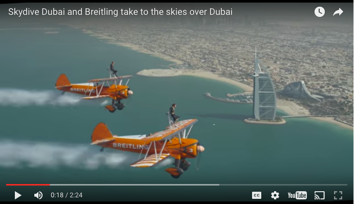 Skydive Dubai Video Spring 2016