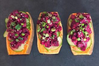 The Sweet Potato Toast Trend