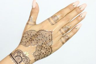 Huda Beauty Tattoos