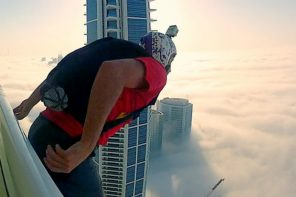 Leap of Faith Base Jump Video in Dubai