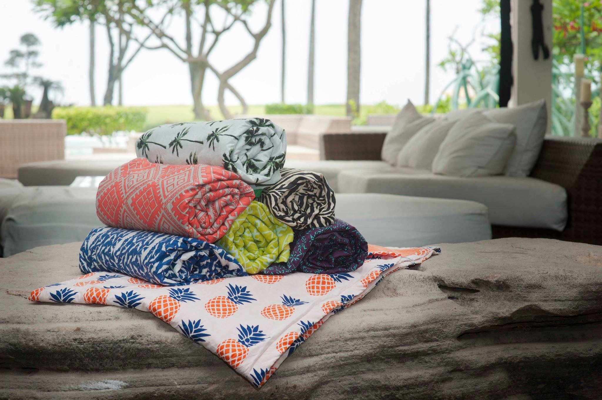 Inspired by Batik traditions and the Balinese sarong, each one of these towels is seriously a lovingly-made work of art. How on earth do we choose?
