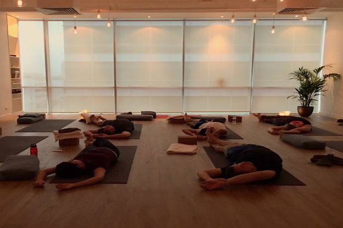 yoga studio in dubai