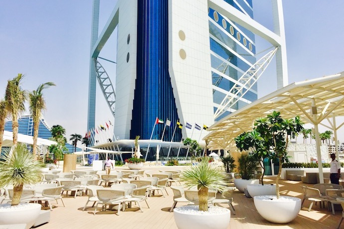A Fresh Culinary Experience Offering New Vantage Point Of The City Burj Al Arab