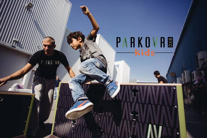 Parkour Spring Camp in Dubai
