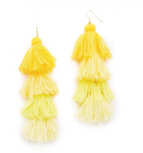 Misa Ombre Tassel earrings