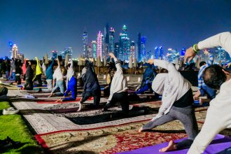 Full Moon Yoga In Dubai