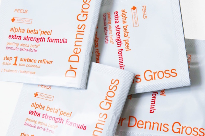 Alpha Beta Peel Extra Strength pads Dr Dennis Gross