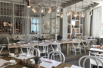 Breakfast at Ostro Dubai