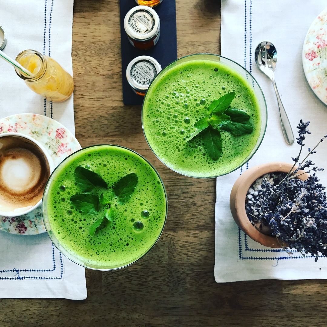 Healthy Green juice at Ostro Dubai