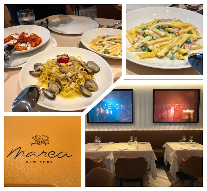 Business Lunch at Marea DIFC