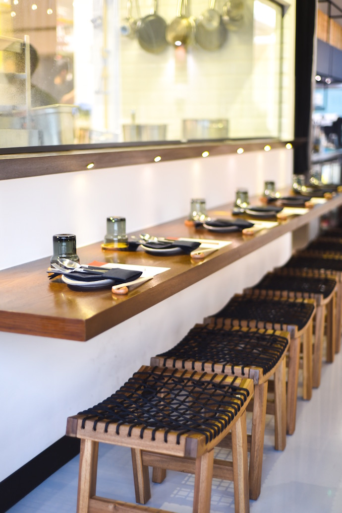 Reif Japanese Kushiyaki - counter seating